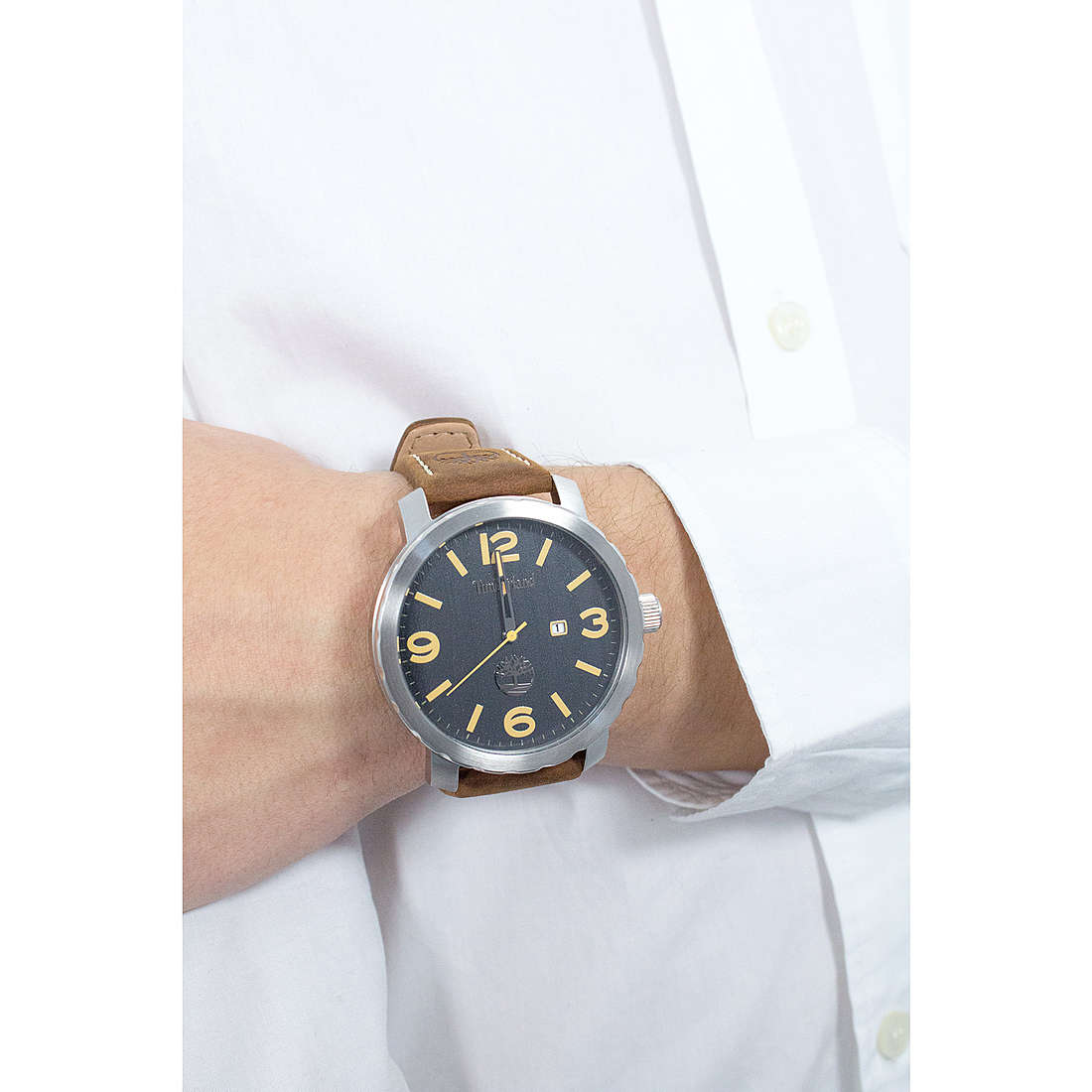 Montre TIMBERLAND PINKERTON homme 14399XS 03: : Montres