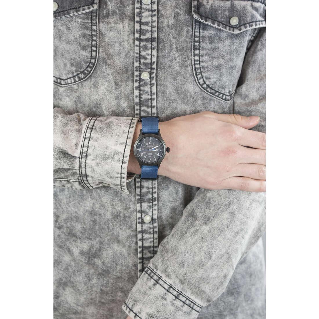 Timex seul le temps Scout Color homme TW4B04800 indosso