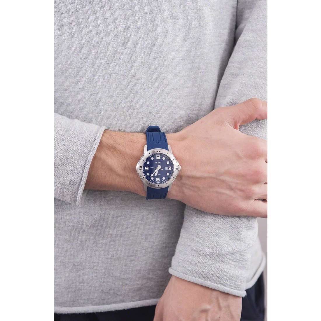 Vagary By Citizen seul le temps homme IB6-019-70 indosso