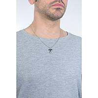necklace man jewellery 2Jewels Black Fiber 251574