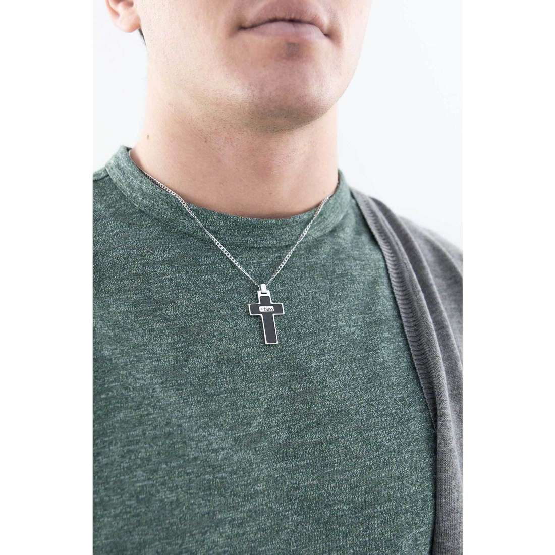 Bliss necklaces B.Black man 20043952 indosso
