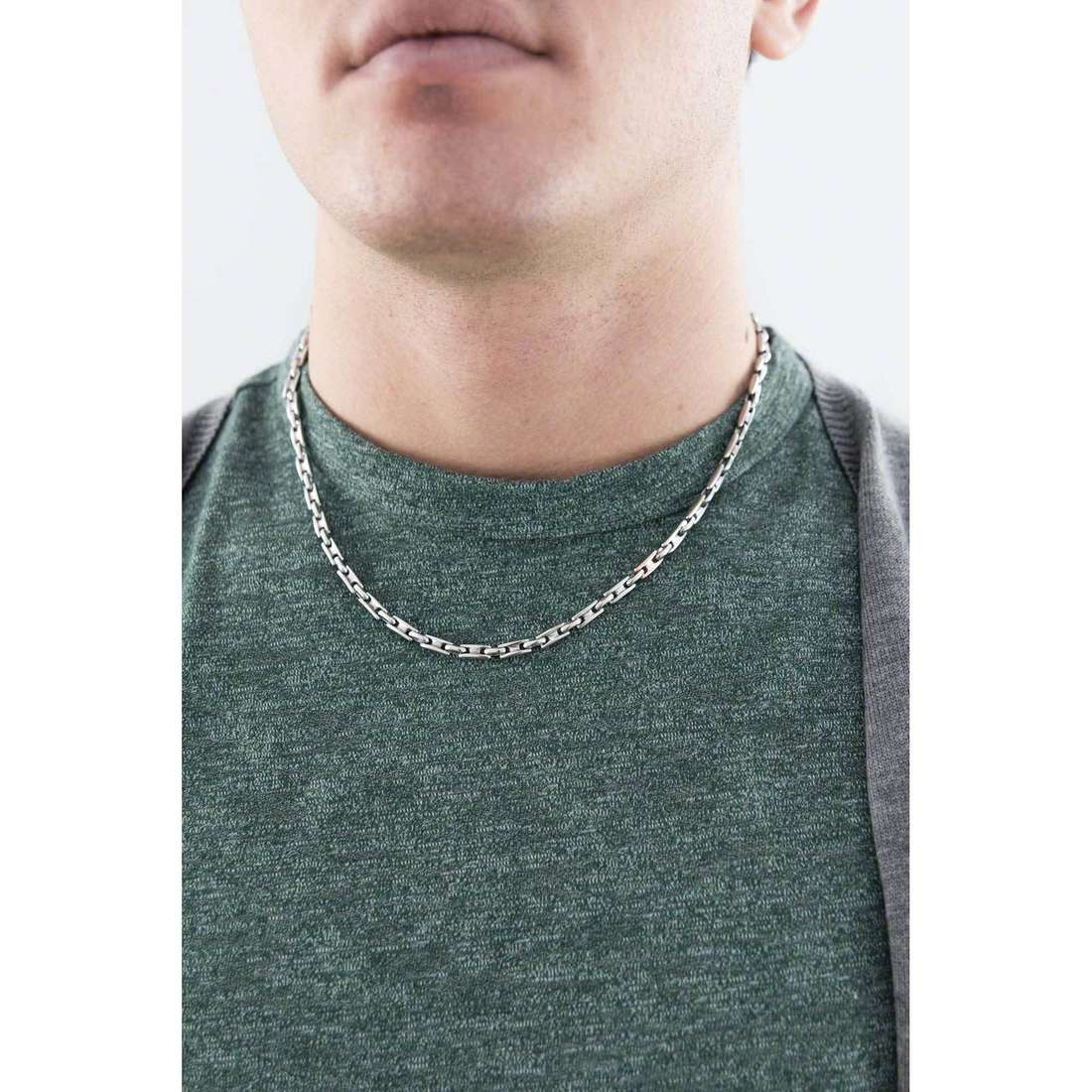 Bliss necklaces Oxford man 20064159 indosso