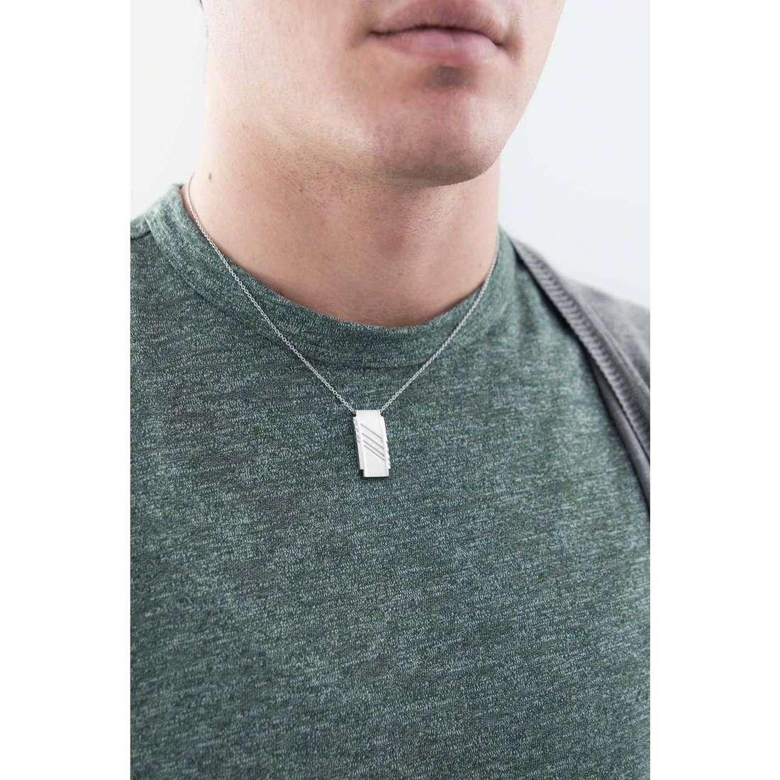 Breil necklaces Abarth man TJ1868 indosso