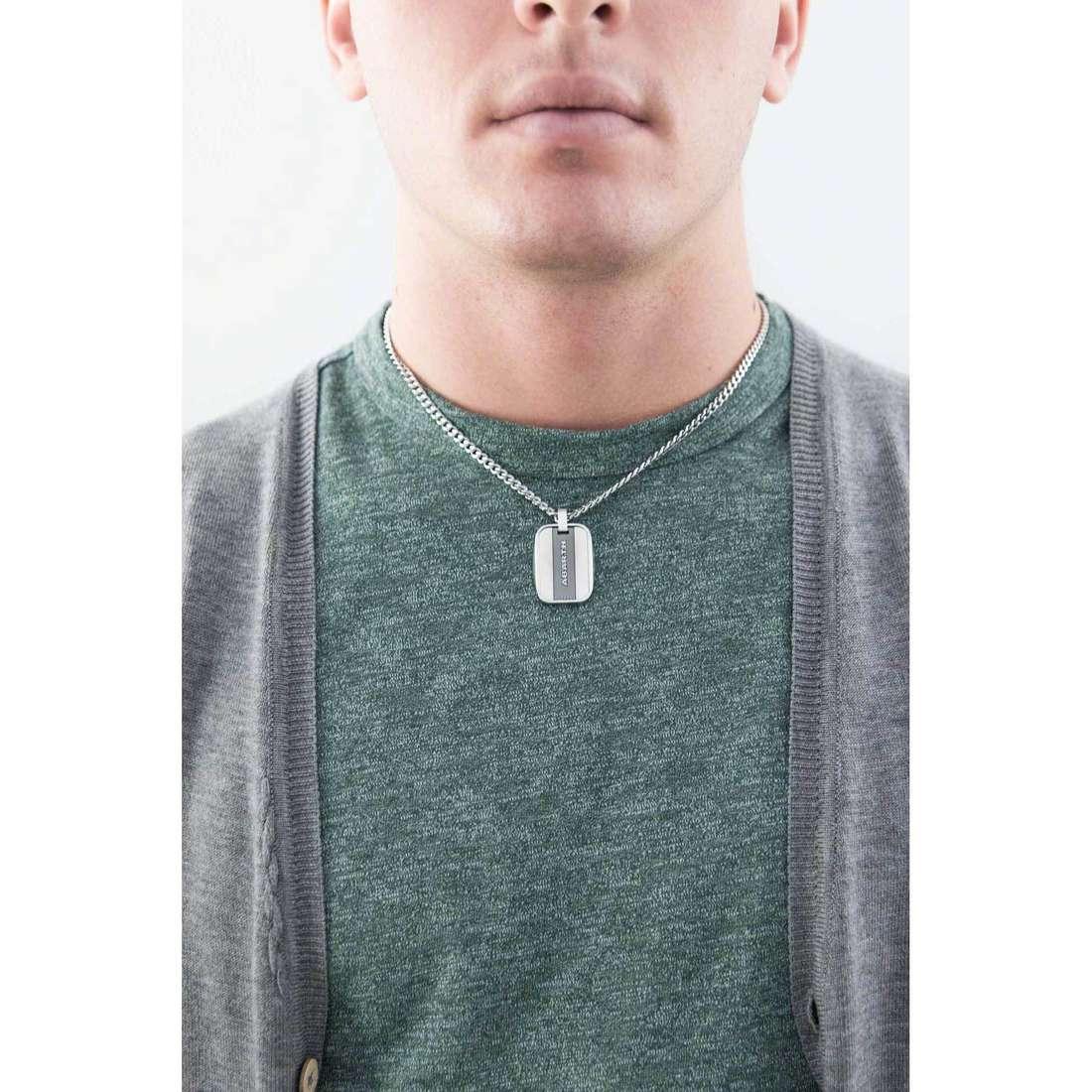 Breil necklaces Abarth man TJ1887 indosso