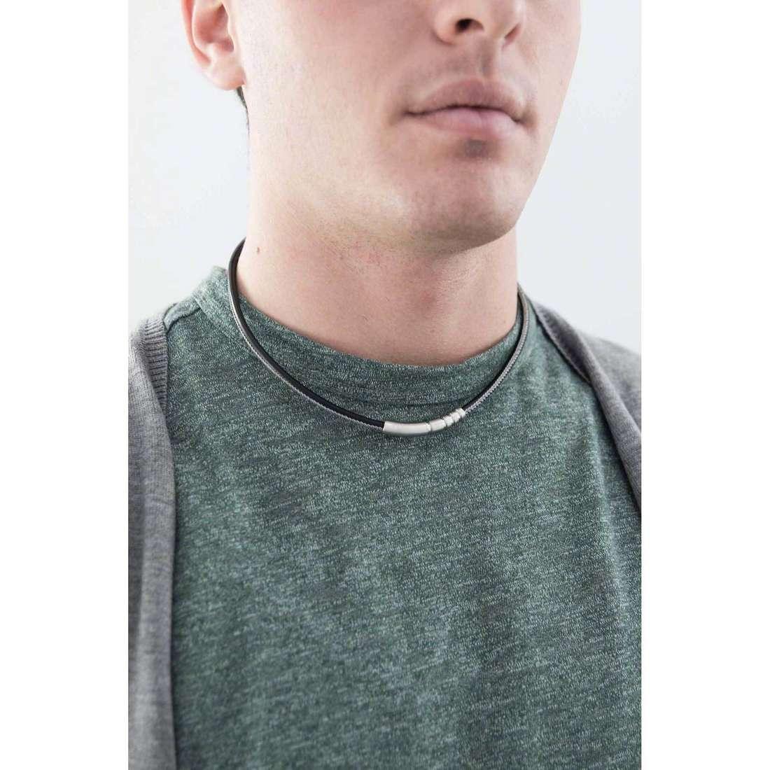 Breil necklaces B-R31L man TJ1812 indosso