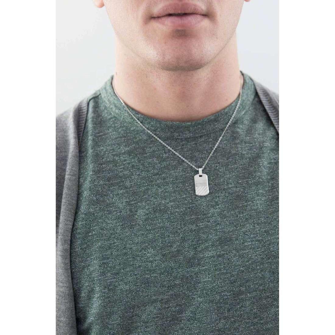 Breil necklaces B-R31L man TJ1813 indosso