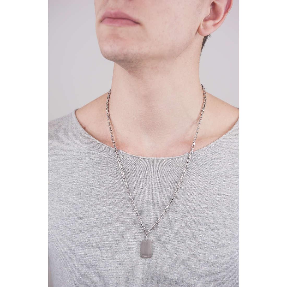 Breil necklaces Grades man TJ1866 indosso