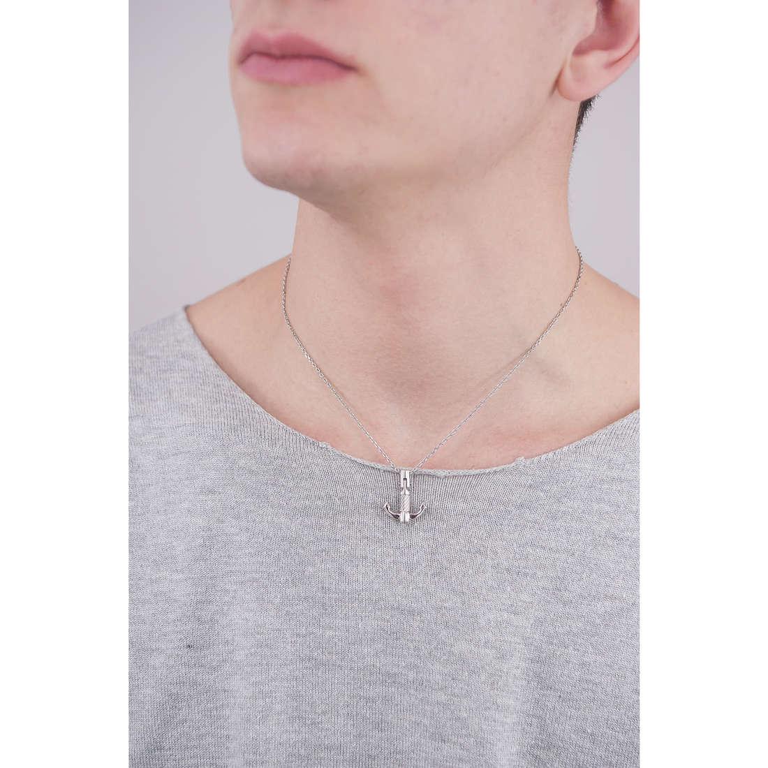 Brosway necklaces Bounty man BOU02 indosso