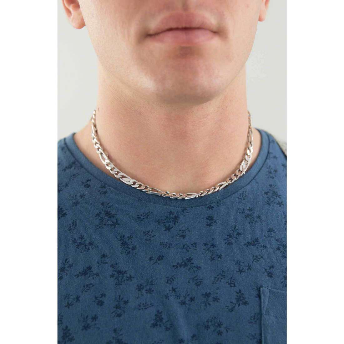 Cesare Paciotti necklaces man JPCL0196B indosso