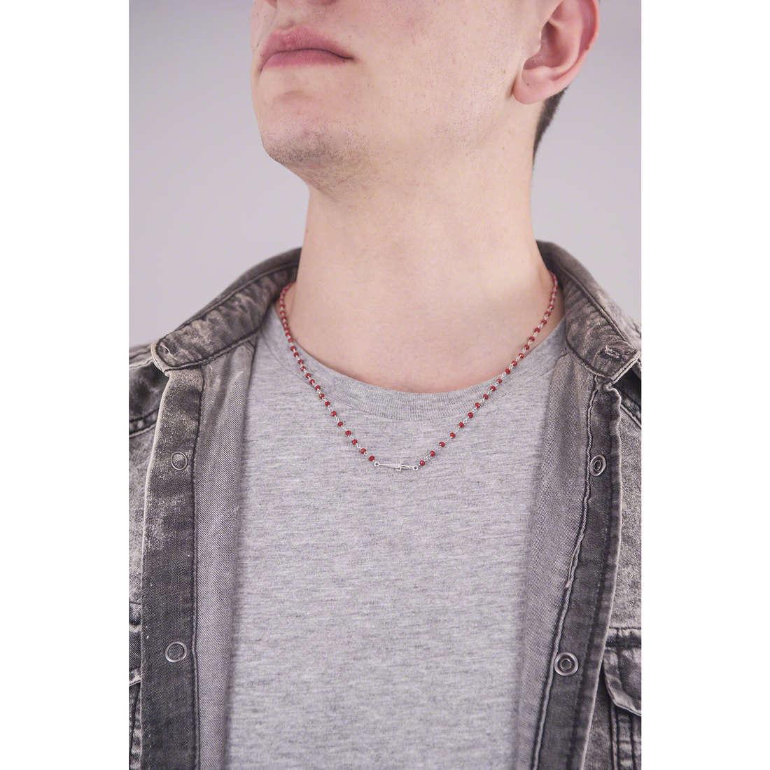Cesare Paciotti necklaces Ornament man JPCL1119B indosso