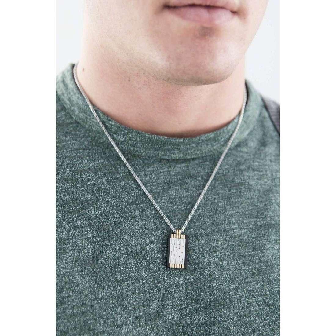 Comete necklaces 2.0 man UGL 542 indosso