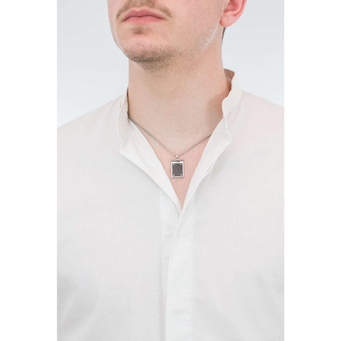 Comete necklaces Building man UGL 569 photo wearing