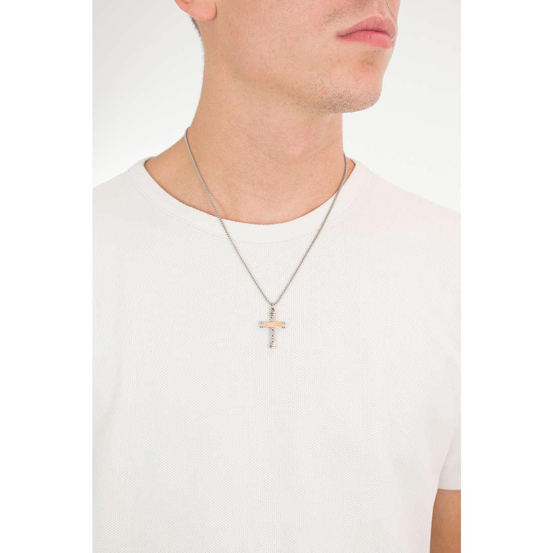 Comete necklaces Familia man UGL 539 photo wearing