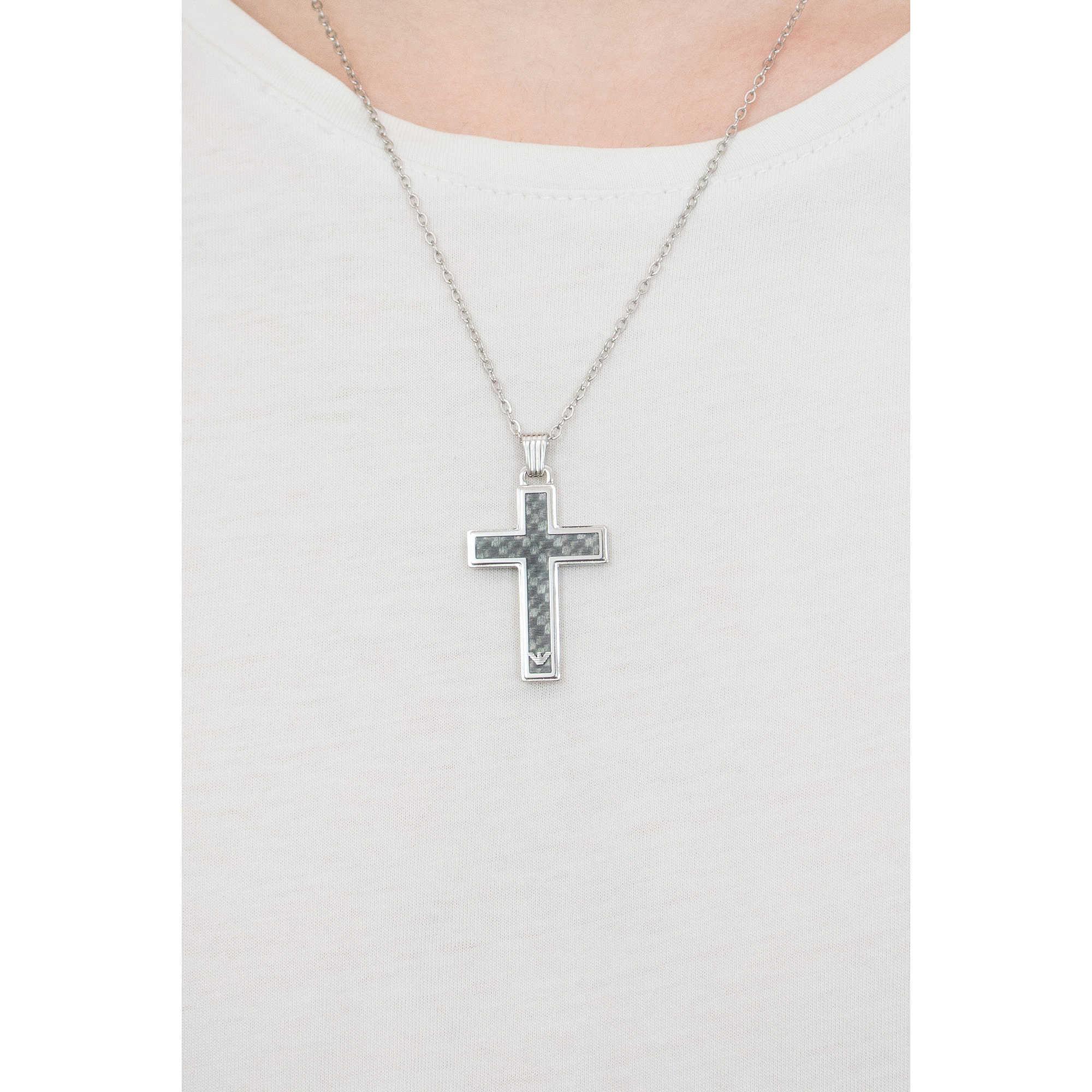 78f77d738 necklace man jewellery Emporio Armani EGS1705040 necklaces Emporio ...