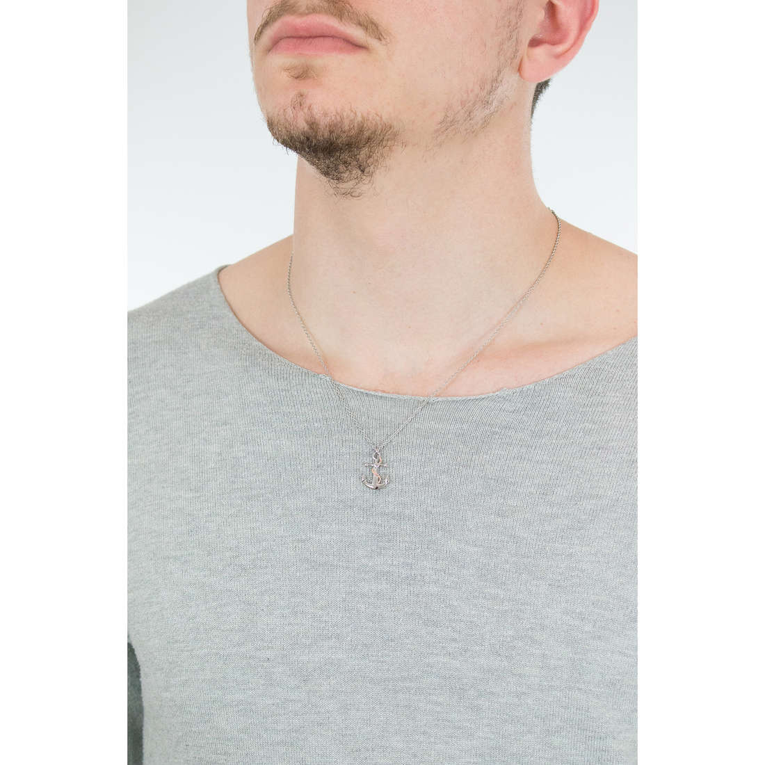 Luca Barra necklaces man LBCA366 photo wearing