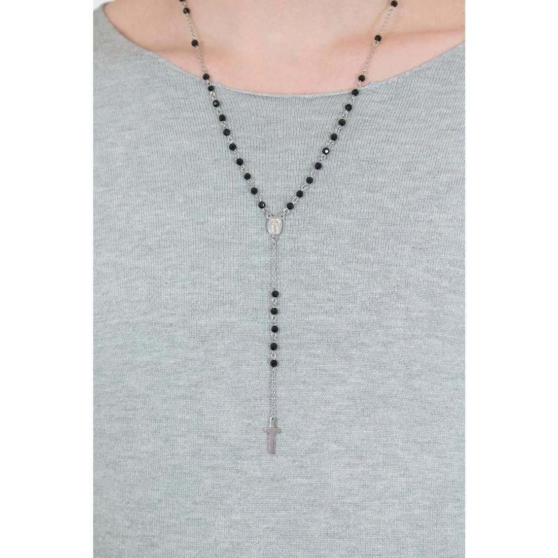 Luca Barra necklaces man LBCL185 indosso