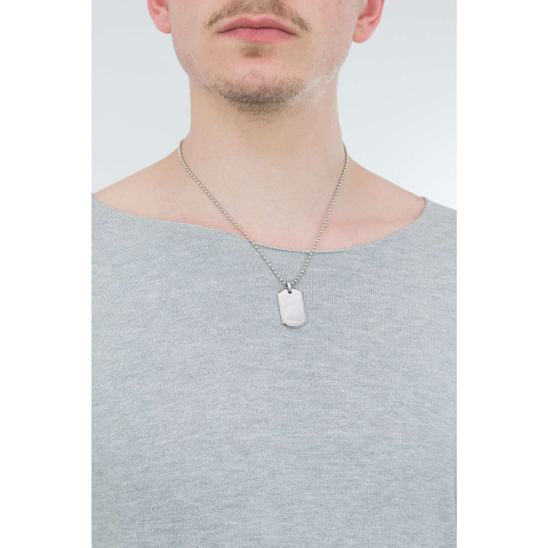 Morellato necklaces Cross man SAHU03 indosso