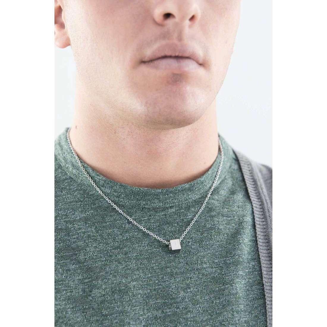 Morellato necklaces Stile man SAGH02 indosso