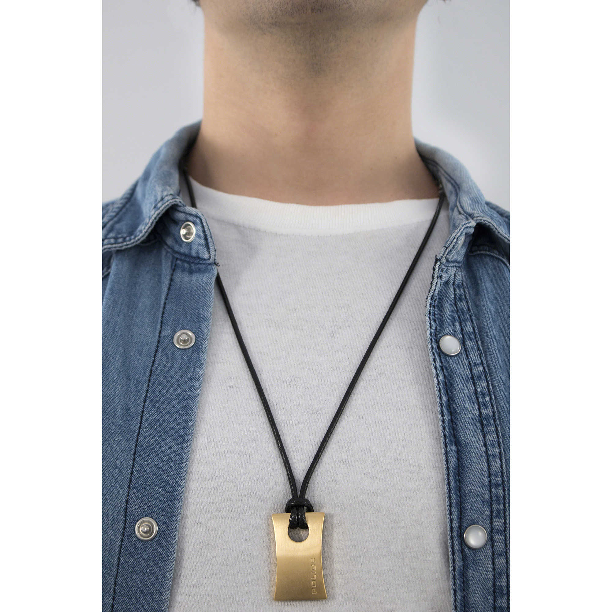 Necklace man jewellery police carver s14agn02p necklaces police zoom aloadofball Gallery