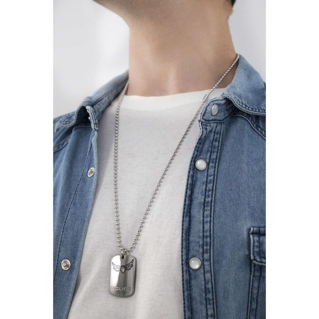Police necklaces Icarus man S14IY01P indosso