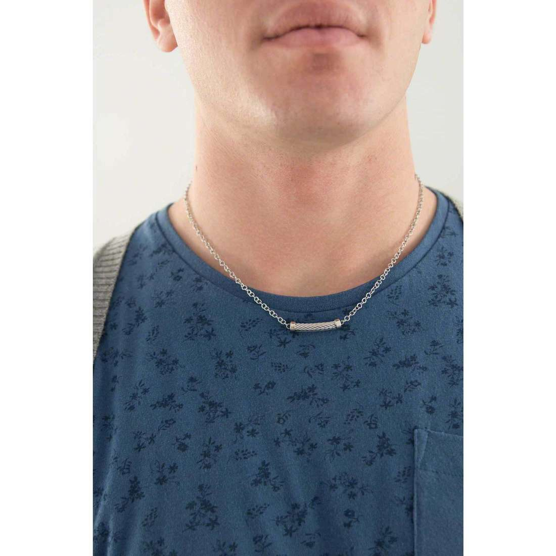 Sagapò necklaces Pole man SAGAPOSPO01 indosso