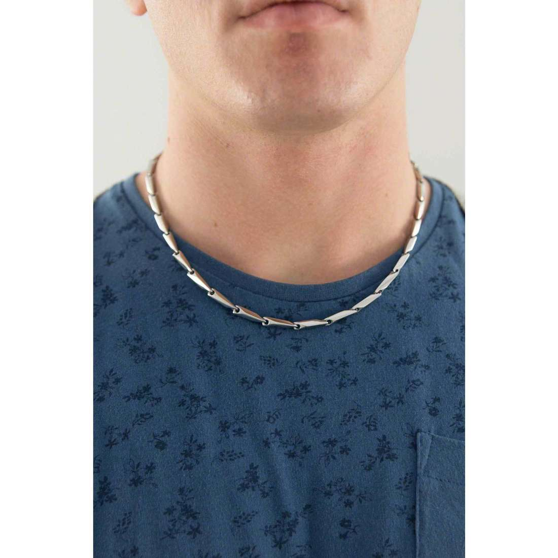 Sector necklaces Energy man SLI54 indosso