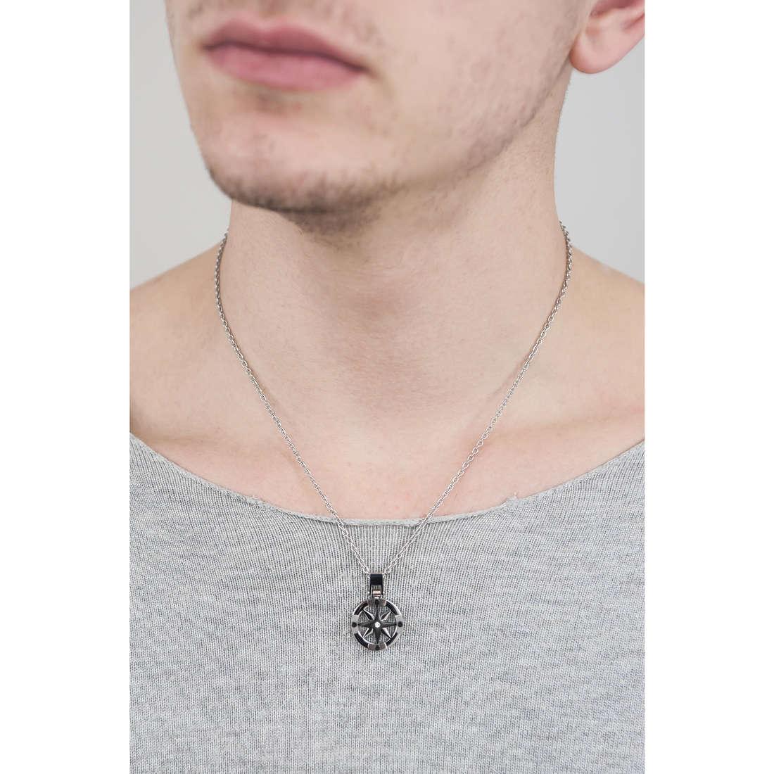 Sector necklaces Marine man SADQ01 indosso