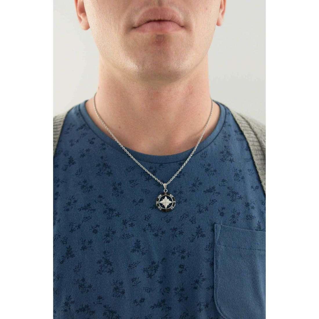 Sector necklaces Marine man SADQ02 indosso