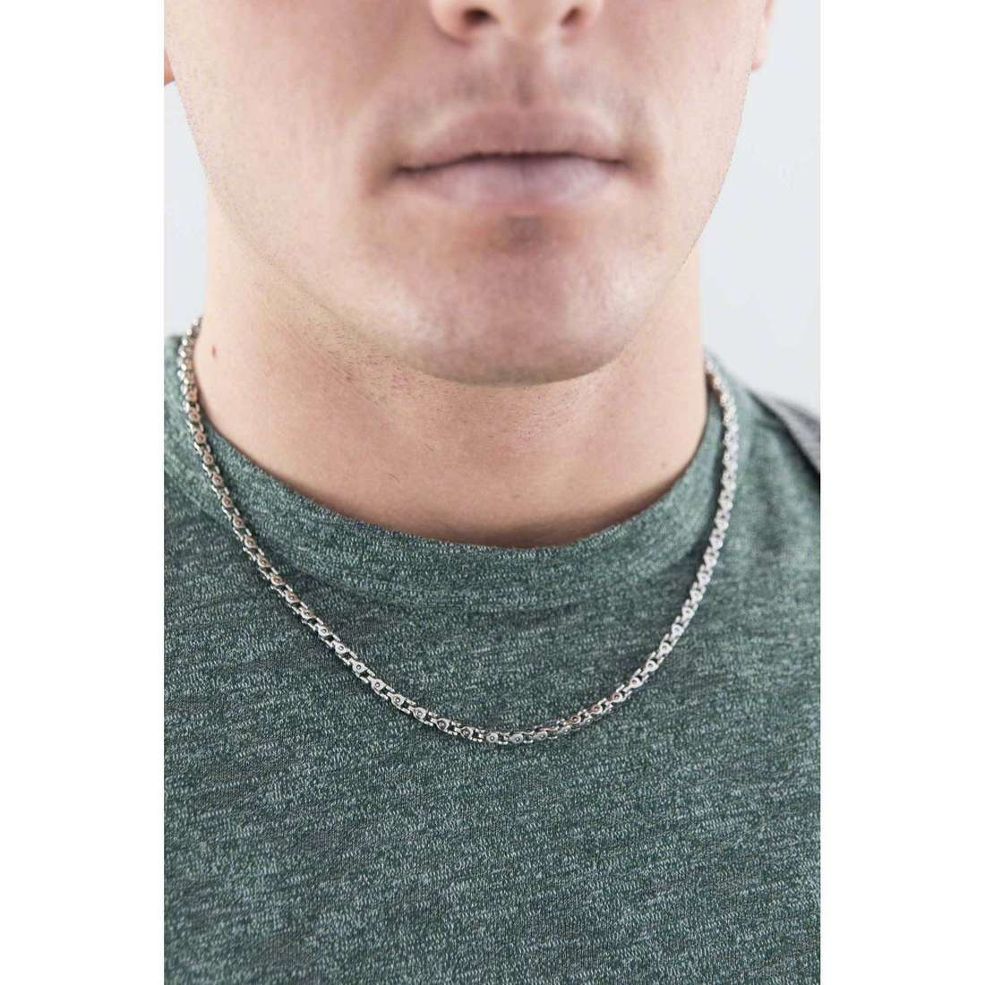 Morellato necklaces Stile man SAGH13 indosso