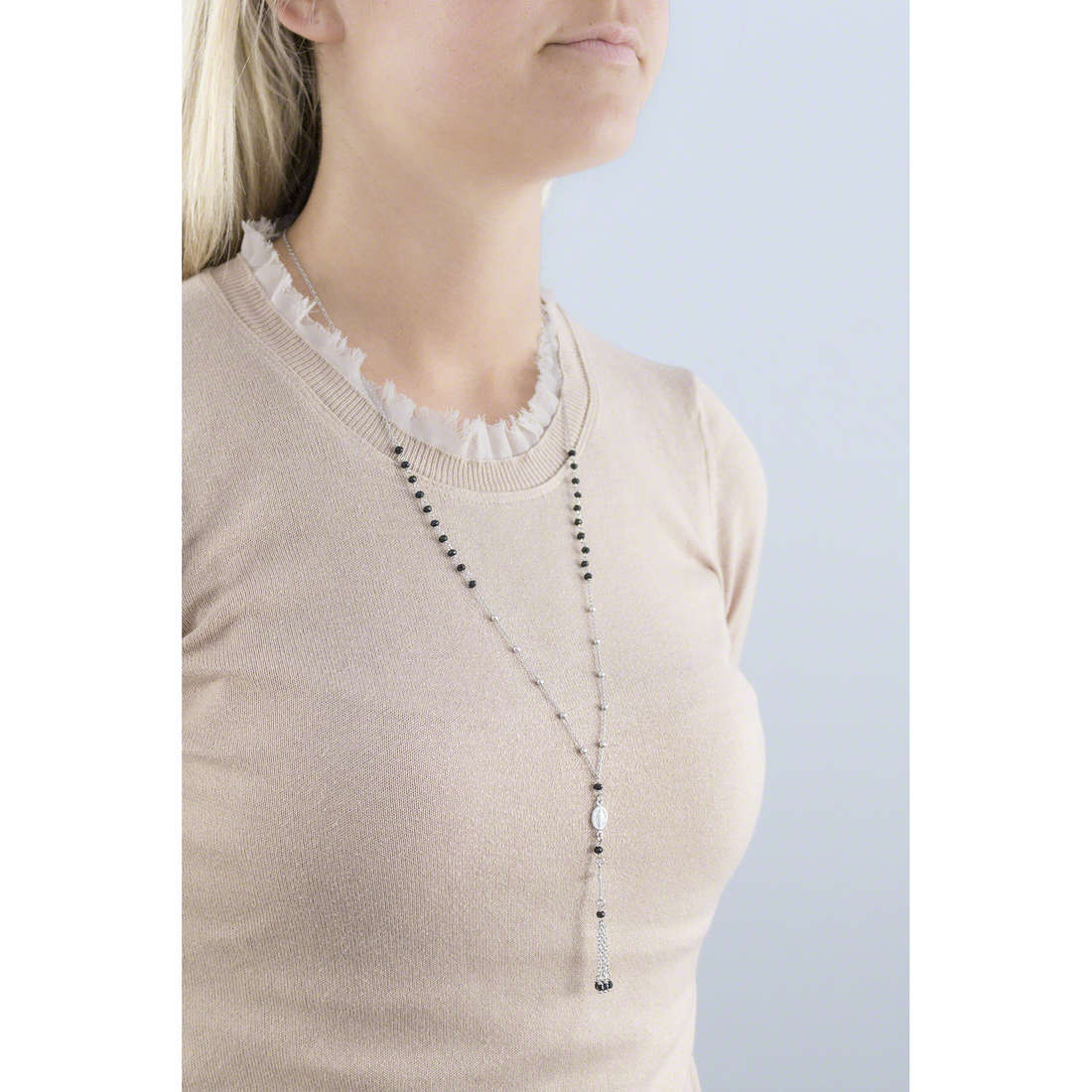 Amen necklaces woman CIUFFN indosso