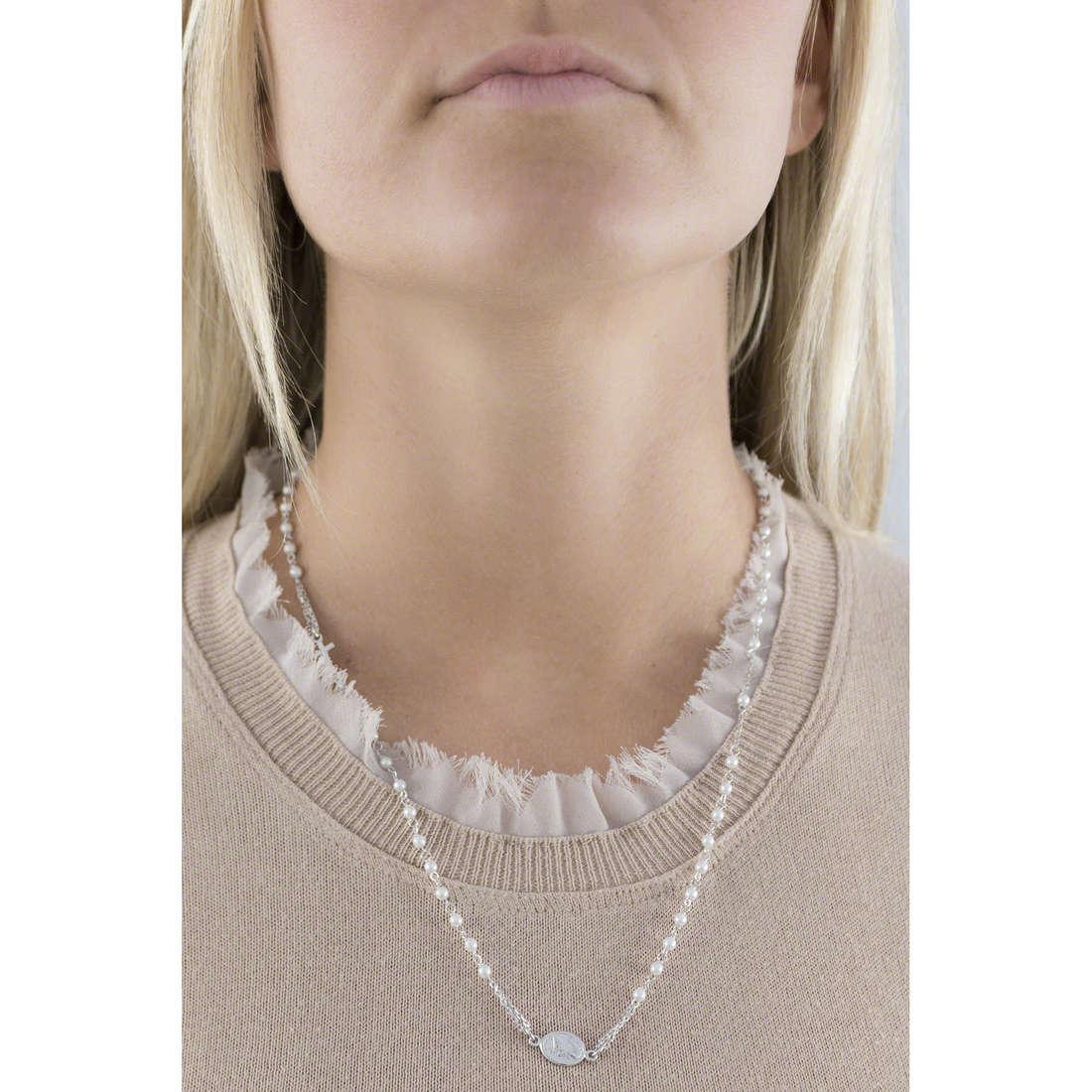 Amen necklaces woman CROBS3 indosso