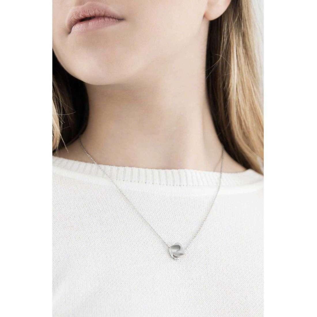 Breil necklaces Beat Flavor woman TJ1489 indosso