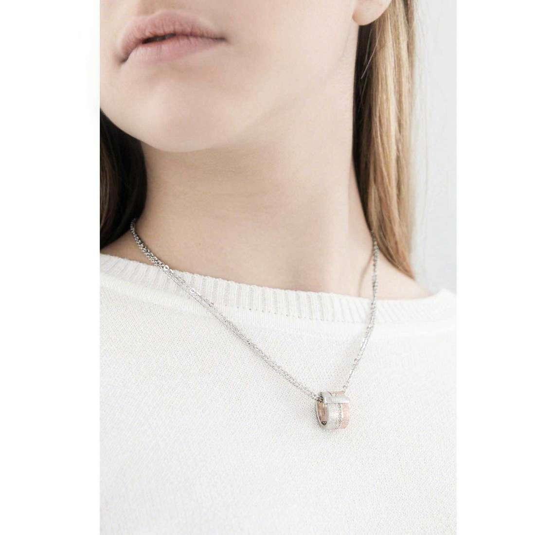 Breil necklaces Breilogy woman TJ1431 indosso