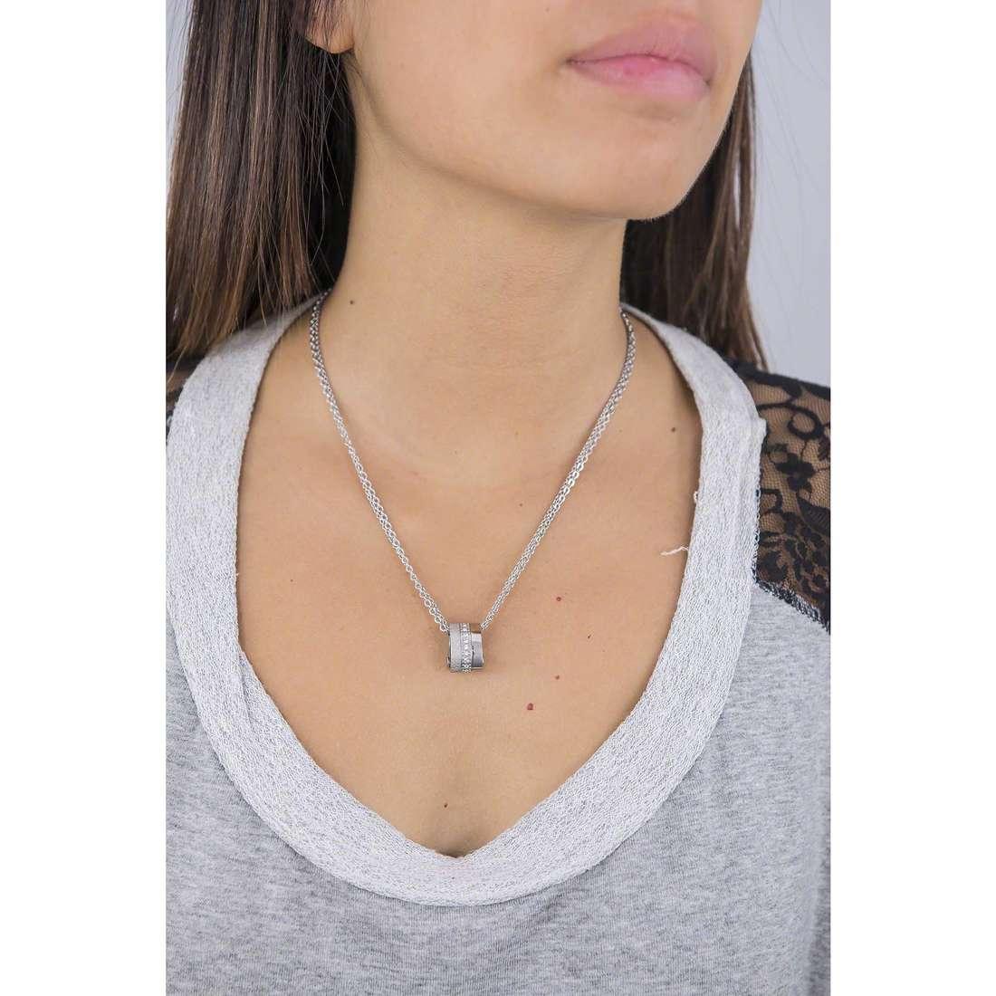 Breil necklaces Breilogy woman TJ1470 indosso