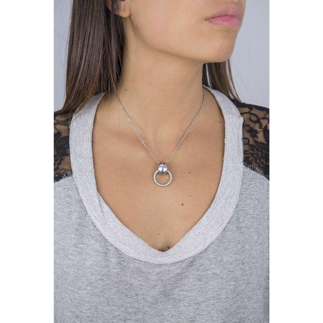 Breil necklaces Breilogy woman TJ1684 indosso