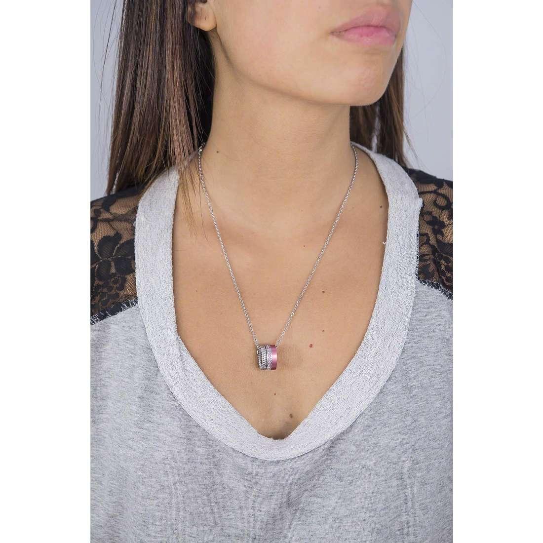 Breil necklaces Torsion woman TJ1713 indosso