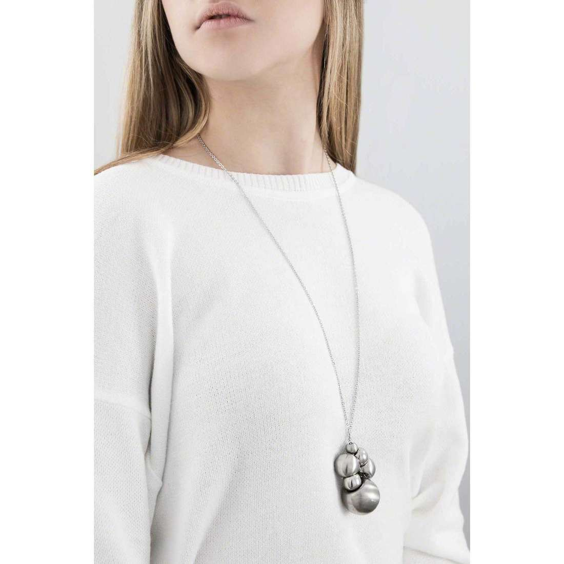Breil necklaces Chaos woman TJ0913 indosso
