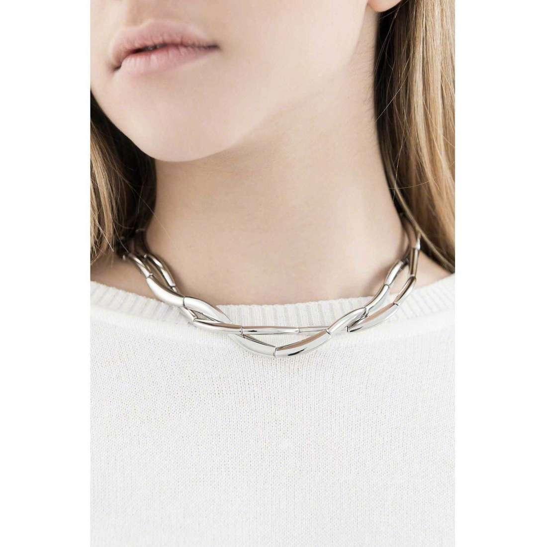 Breil necklaces Flowing woman TJ1094 indosso