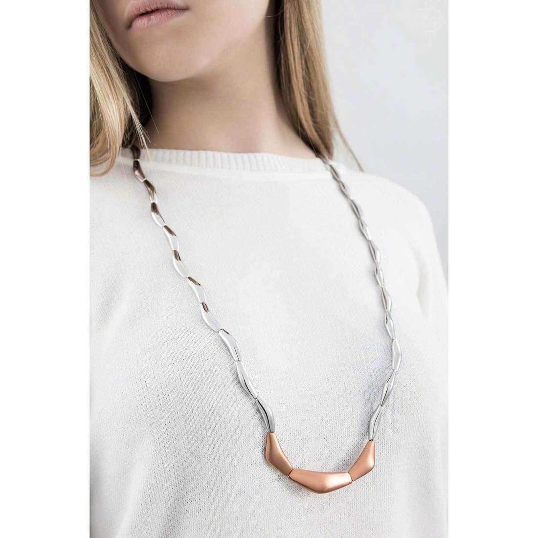 Breil necklaces Flowing woman TJ1818 indosso