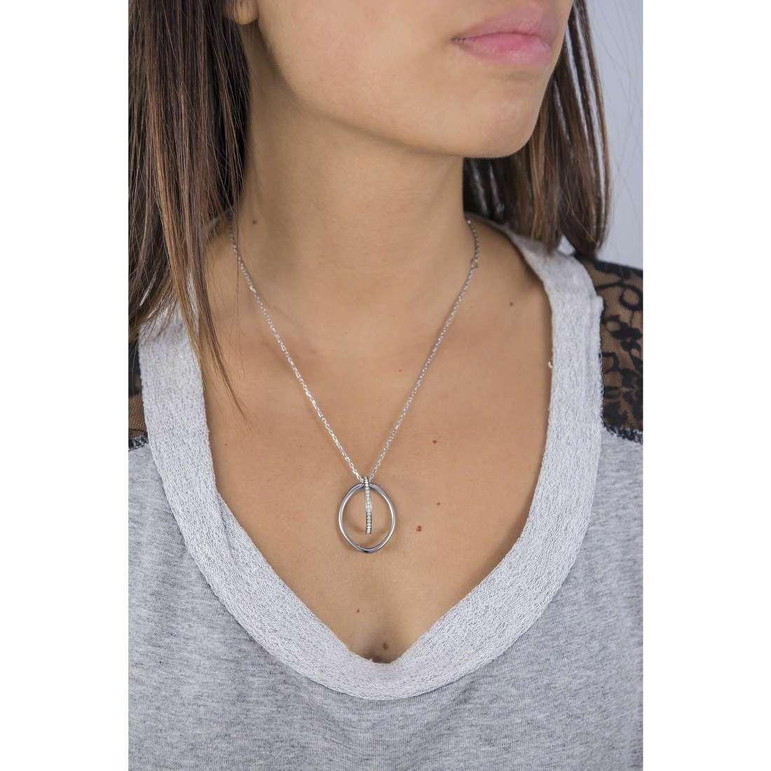 Breil necklaces Mezzanotte woman TJ1896 indosso