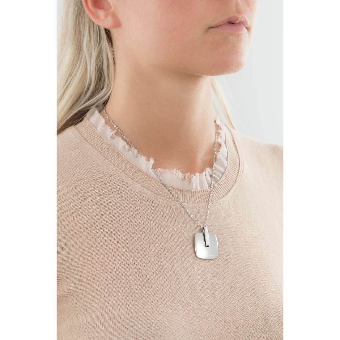 Breil necklaces New Blast woman TJ1605 indosso