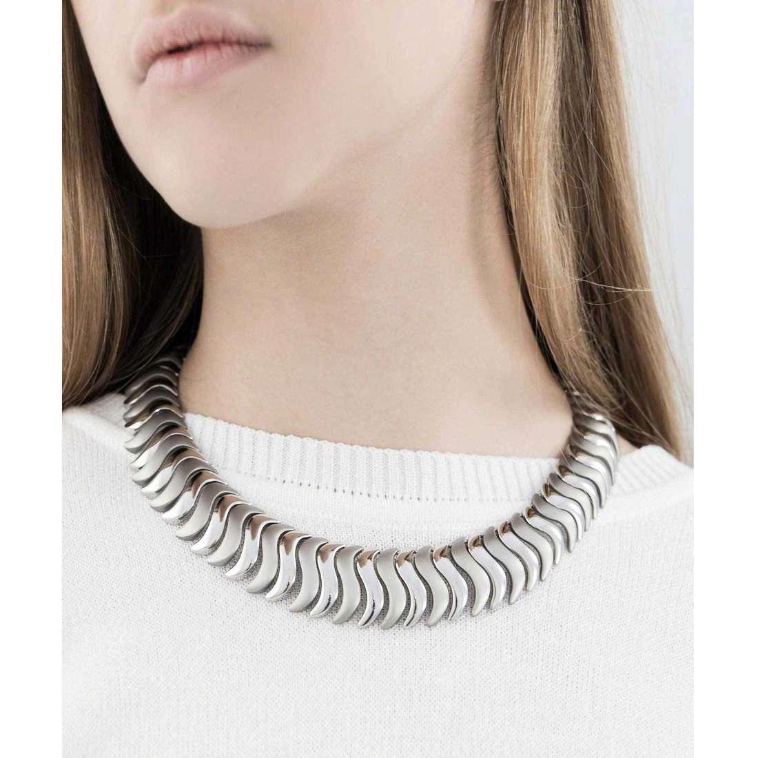 Breil necklaces Nouvelle Vague woman TJ1521 indosso