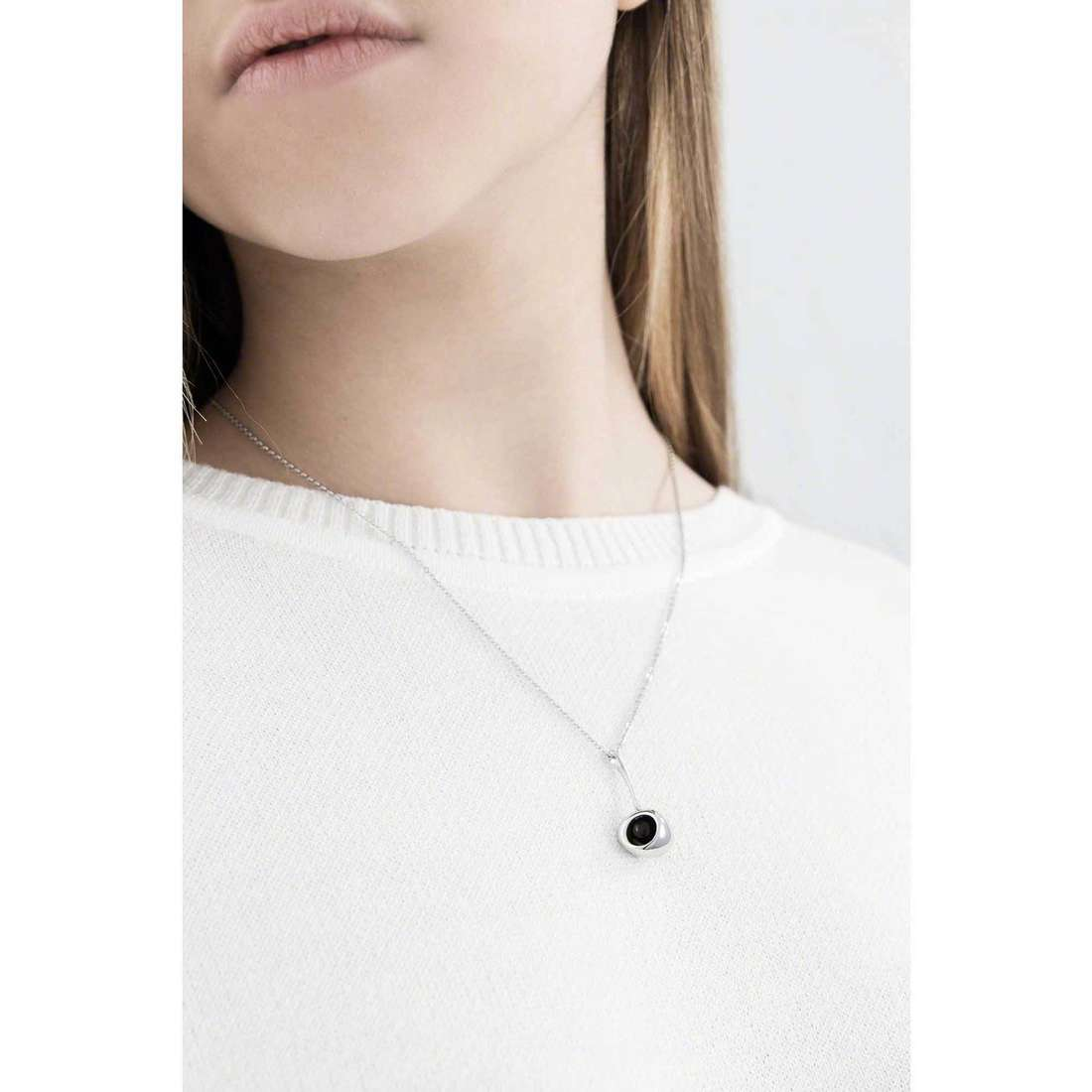 Breil necklaces Red woman TJ1858 indosso