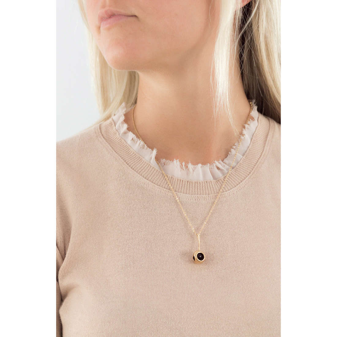 Breil necklaces Red woman TJ1859 indosso