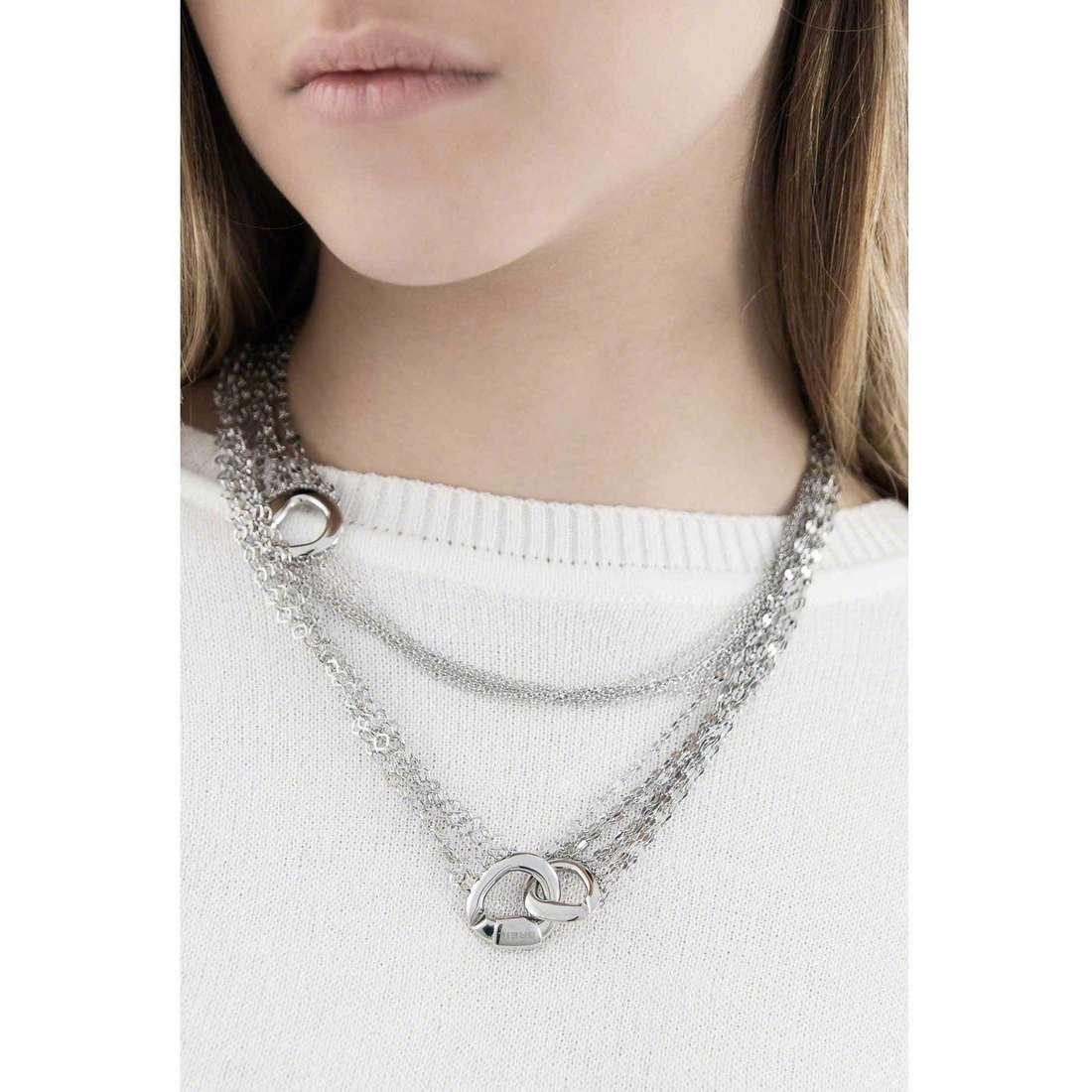 Breil necklaces SkyFall woman TJ1411 indosso