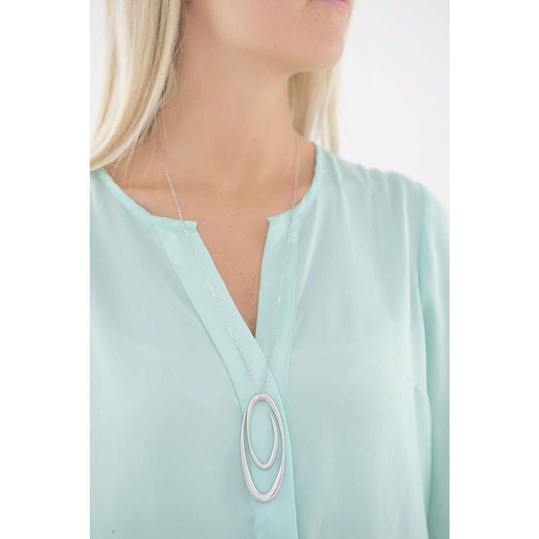 Breil necklaces woman TJ1962 indosso