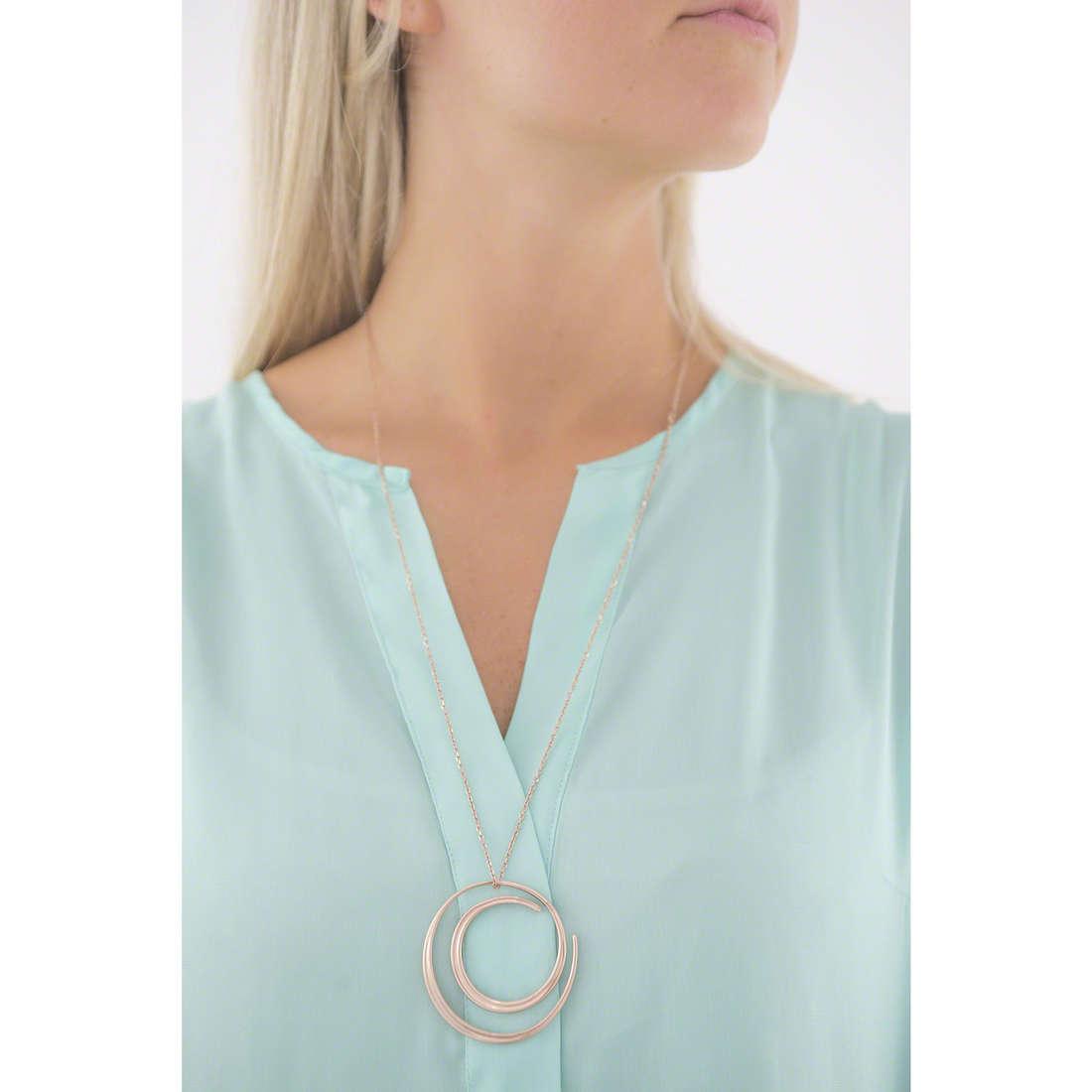 Breil necklaces woman TJ1963 indosso