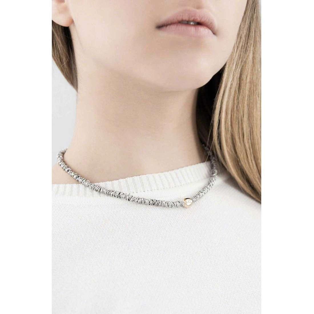 Breil necklaces Vertigo woman TJ1675 indosso