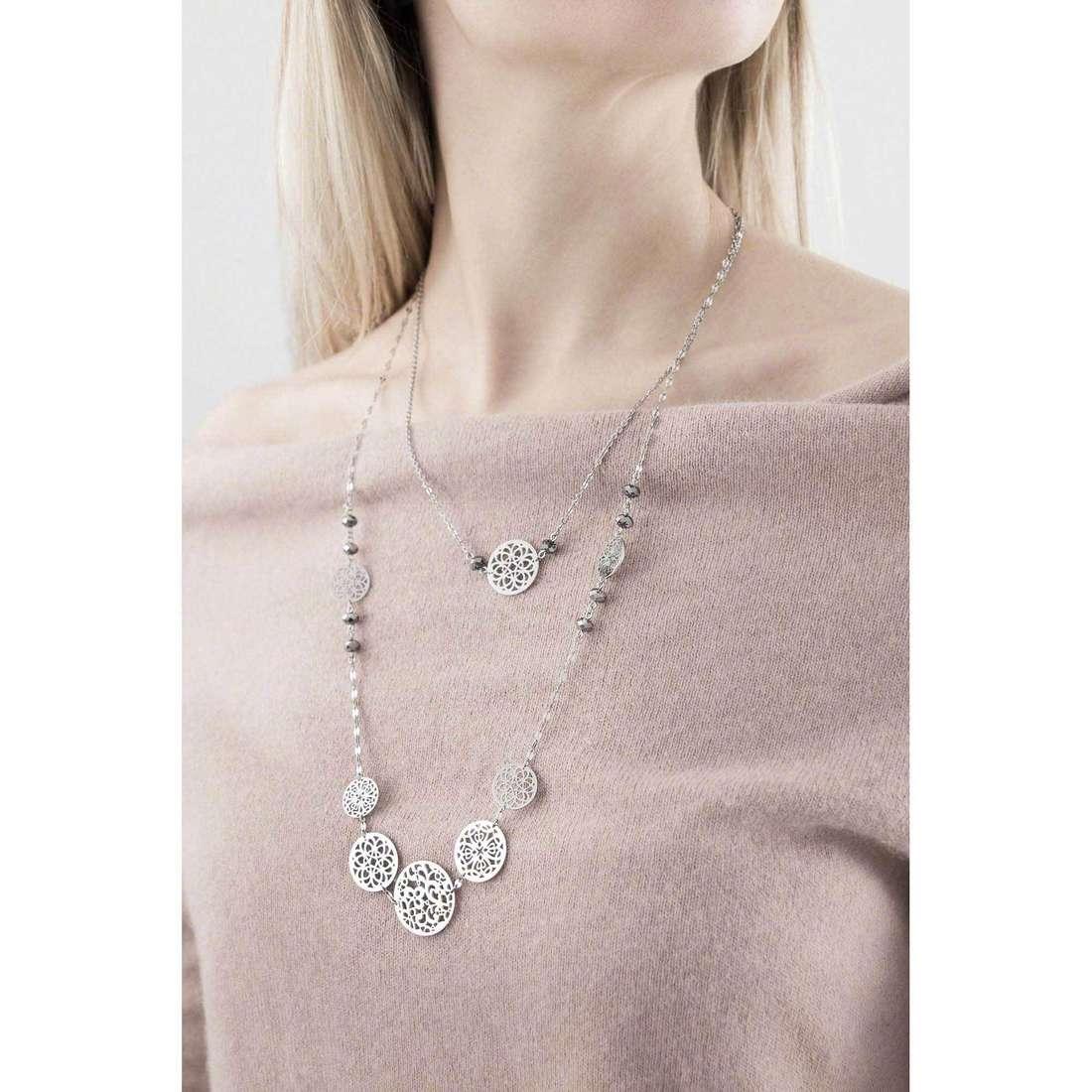 Brosway necklaces Abracadabra woman BAB01 indosso