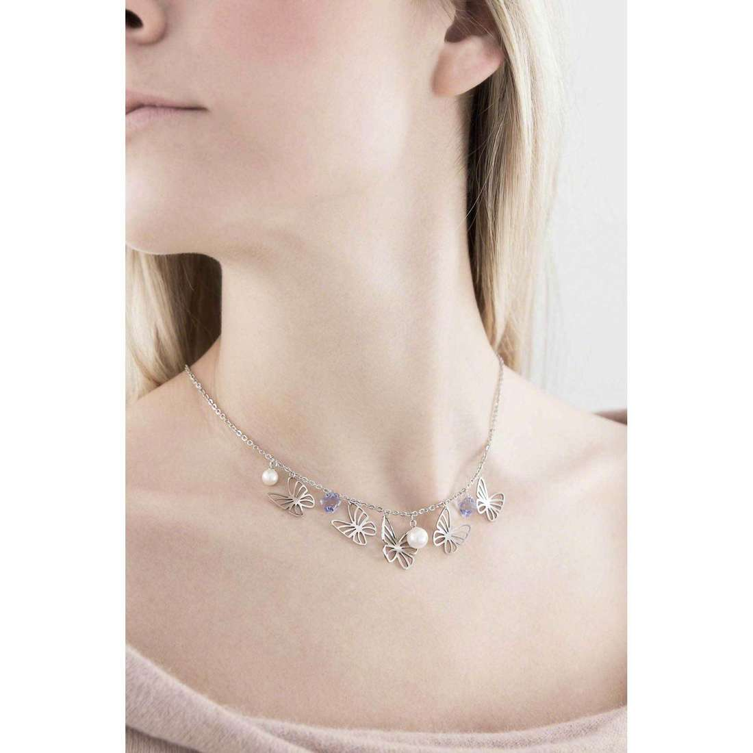 Brosway necklaces Charmant woman BCM01 photo wearing